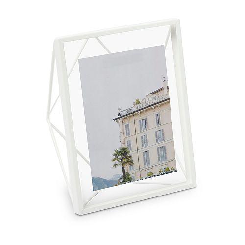 Prisma 8x10 affichage de photo Blanc