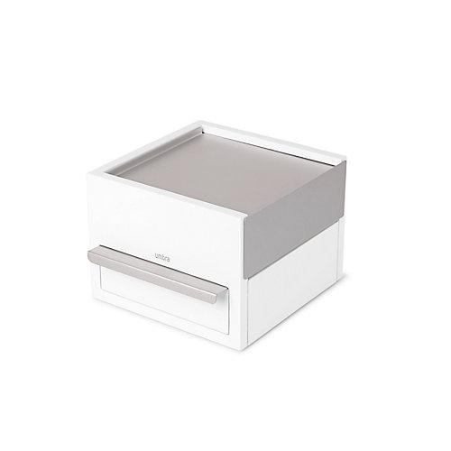 Mini Stowit Jewelery Box White