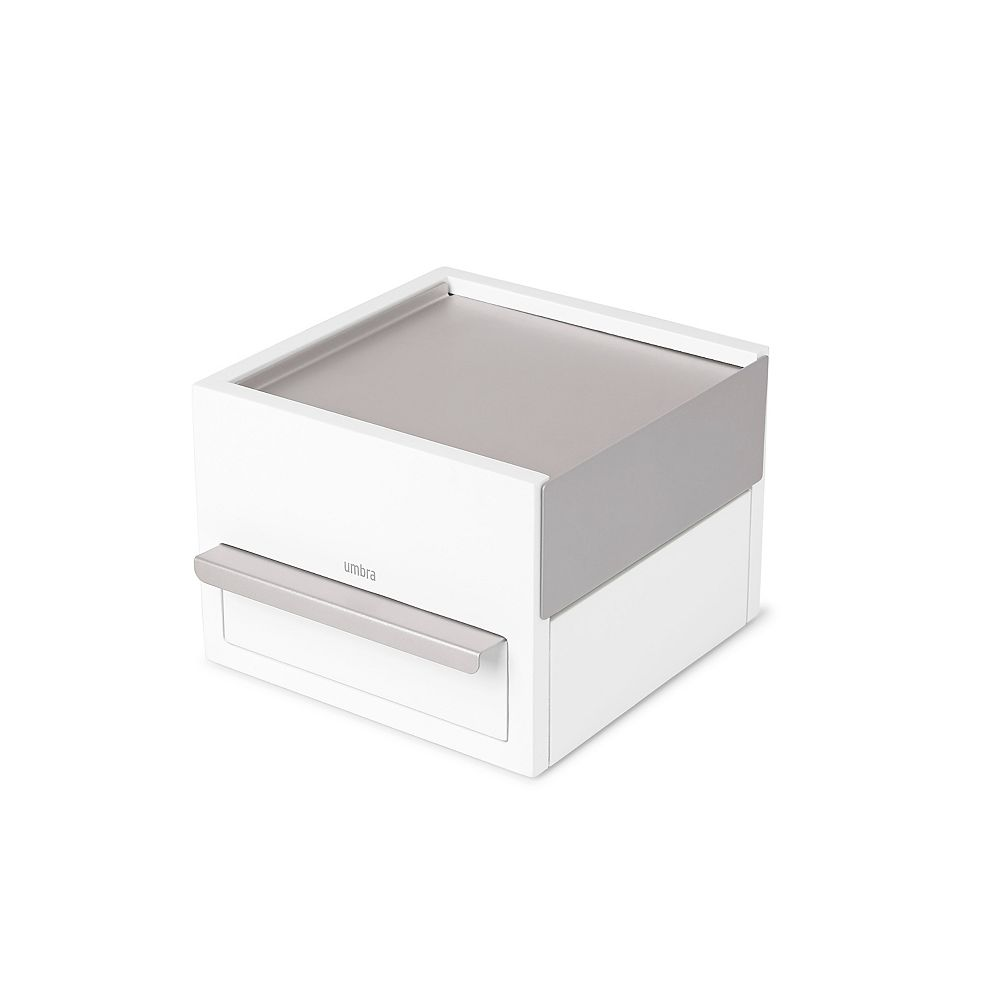 Umbra Mini Stowit Jewelery Box White