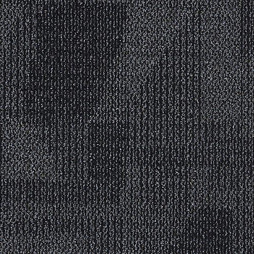 Carreaux de tapis TrafficMaster Sonata Dark 19.68 pouces x19.68 pouces 21.53 pieds carrés par paquet