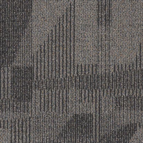 Carreaux de tapis TrafficMaster Sonata Bark 19.68 pouces x19.68 pouces 21.53 pieds carrés par paquet