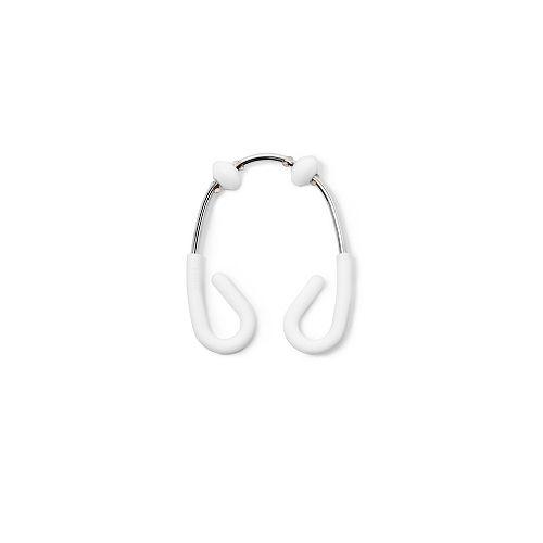 Flex Double Shower Rings 12 White