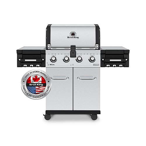 Regal S420 Pro 4-Burner 50,000 BTU LP Gas Grill