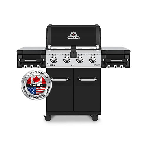 Regal 420 Pro 4 Burner 50,000 BTU LP Gas Grill