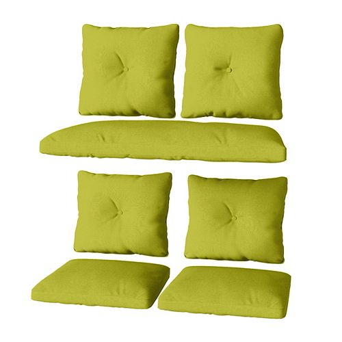 Lime Green Replacement Cushion Set