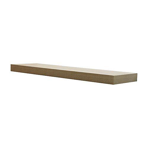 36 inch Grey Oak Floating Shelf