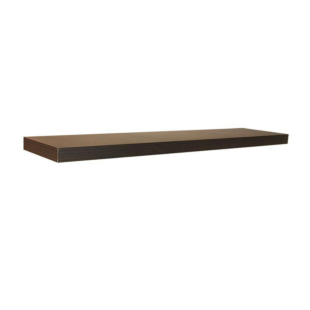 Home Decorators Collection 42 inch Espresso Floating Shelf