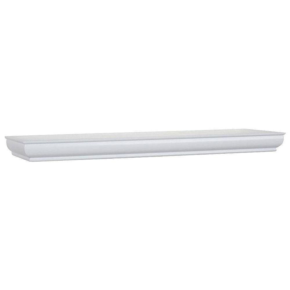 Home Decorators Collection Profile Floating Ldge-White