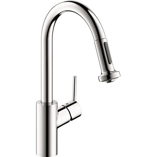 Talis S² 1-Handle Pull-Down Sprayer Prep Kitchen Faucet in Chrome
