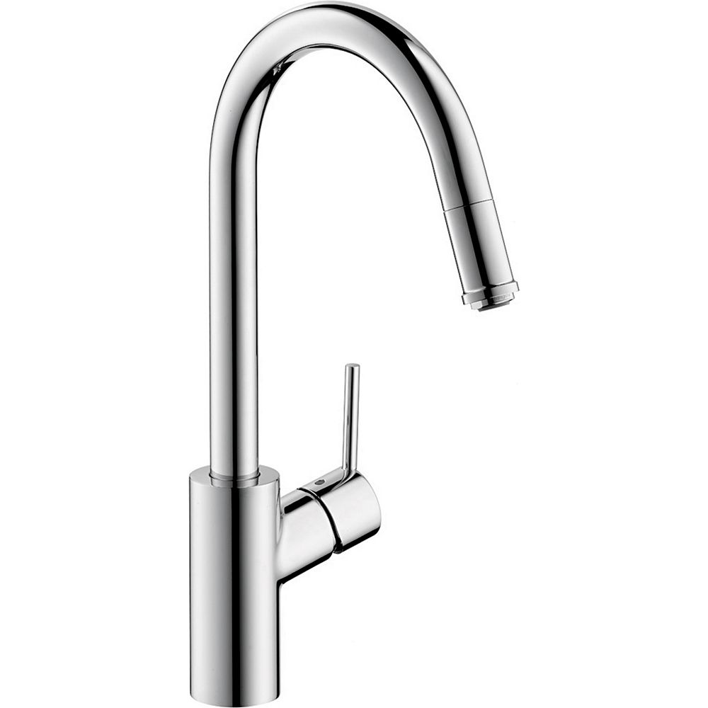 Hansgrohe Talis S² High Arc 1-Handle 1-Spray Pull-Down Sprayer Kitchen Faucet in Chrome