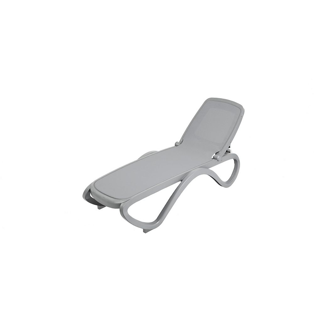 Nardi Omega Chaise Lounge (Cement Grey)