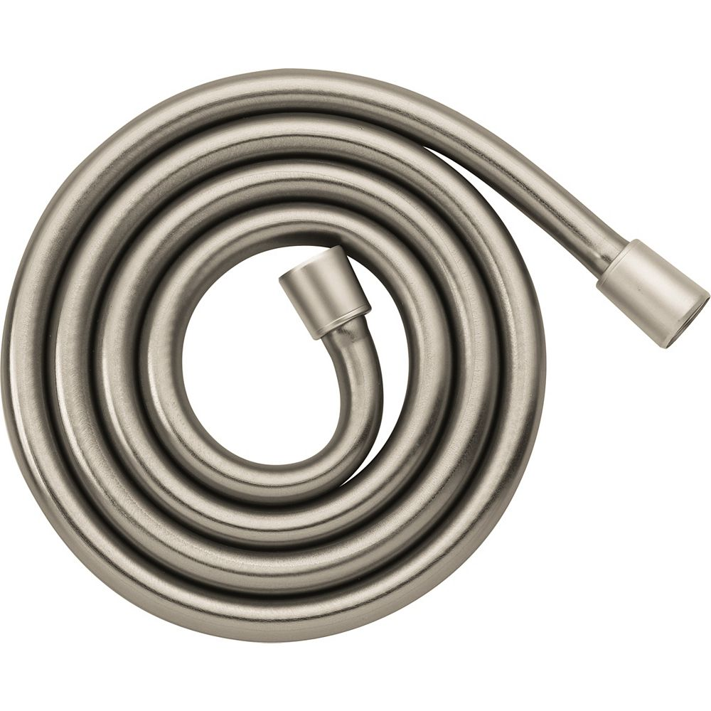 Hansgrohe Techniflex 63 -inch Rubber Hand Shower Hose in Brushed Nickel