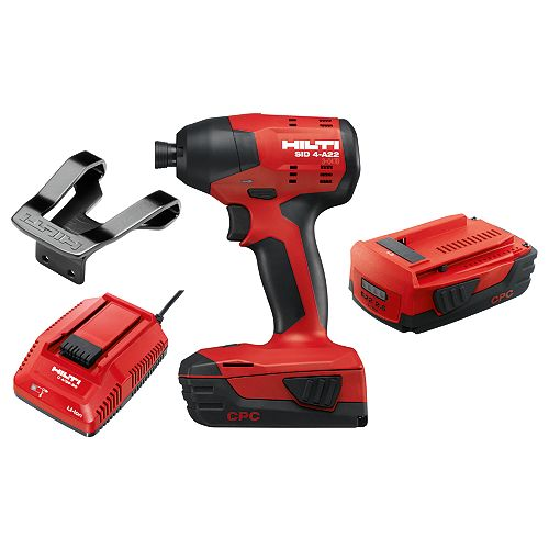 22-Volt 1/4 in. Hex Cordless Brushless SID 4 Compact Impact Driver with 3 gear speed  (No Bag)