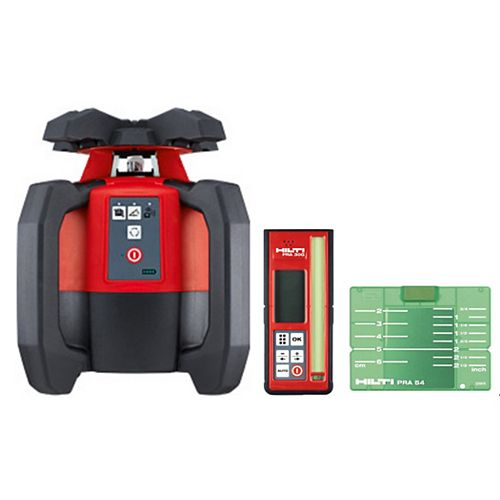 Hilti PR-30-HVSG Green Rotating Laser Level, Laser and Receiver Only
