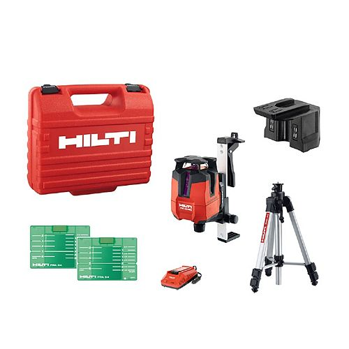 Hilti PM 40-MG Multi-Line Green Laser Full Kit (8-Piece)