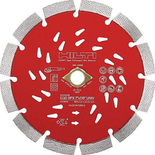 12 in. x 1 in. Super Premium-X Universal Diamond Saw Blade