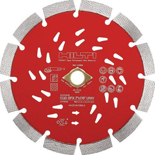 Hilti 12 in. x 1 in. Super Premium-X Universal Diamond Saw Blade