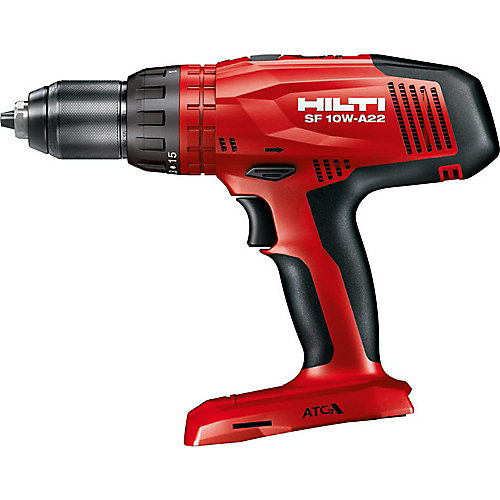 22-Volt Lithium-Ion 1/2 in. Cordless High Torque Drill Driver SF 10W ATC Tool Body