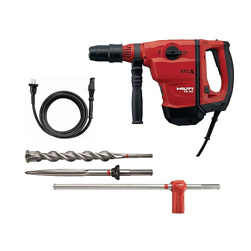 13 Amp 120 Volt 3/4 in. TE 60 AVR/ATC SDS-MAX Rotary Hammer with Active Torque Control (ATC) Kit