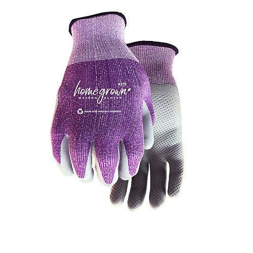 Gants de jardinage écologiques pour femmes avec une paume en mousse de nitrile - Karma - P