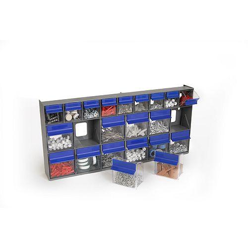 Tilt Bin G2 - 21 bins (Grey/Blue)