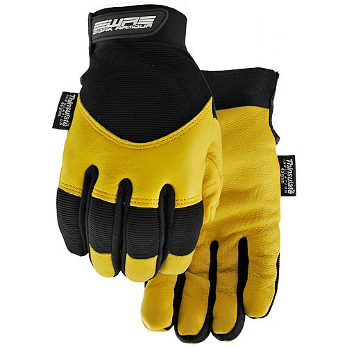 High Performance Water Resistant Form Fitting Winter Work Glove with 3M Lining - Flextime - M