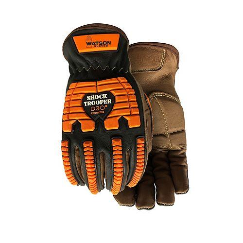 Gants de travail d'hiver robustes résistants aux impacts et aux chocs - Shock Trooper - G