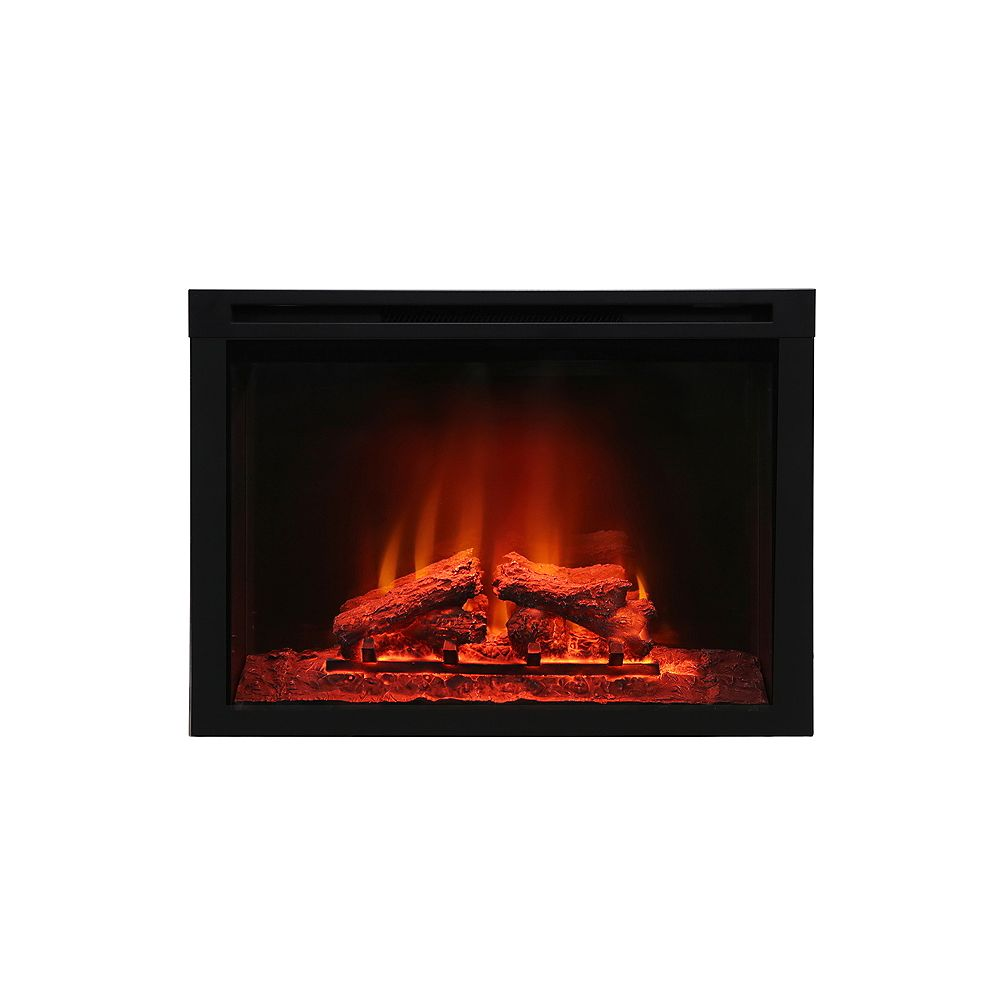 Paramount Premium Insert 30 Inch Electric Fireplace The Home Depot Canada