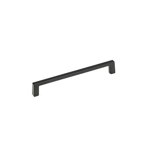 Eglinton Collection 6-inch (152 mm) Center-to-Center Matte Black Contemporary Cabinet Pull