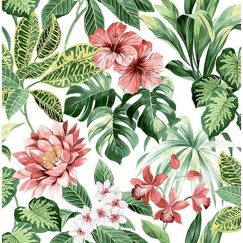 Papier peint Josefa Vert Tropical