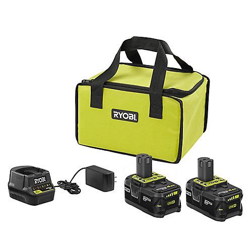 18V ONE+ 4.0Ah Starter Kit
