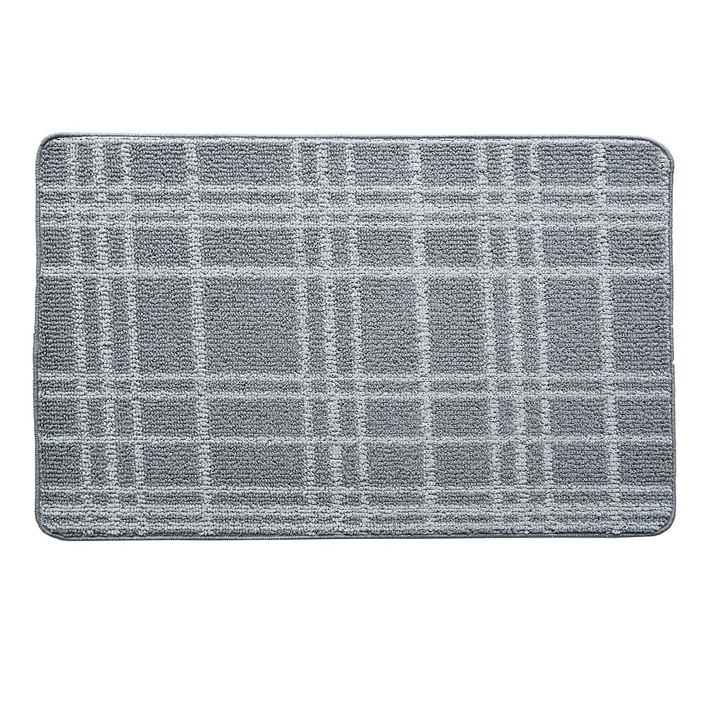 Lanart Rug Fashion Loop 2 ft. x 3 ft. Indoor Mat, Grey Tile