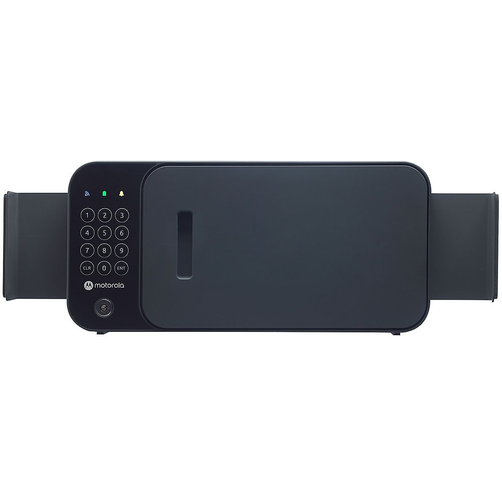 Motorola Flex WiFi Smart Safe with Remote Open Security Monitoring and Siren - Black