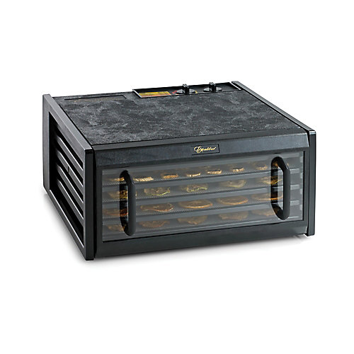 Excalibur 5 Tray Dehydrator with Timer & Clear door.