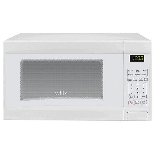 Four à micro-ondes de comptoir Willz, 0,9 pi³, Blanc