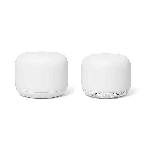 Nest Wi-Fi Router with Point (2-Pack)