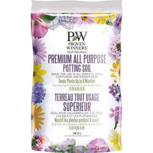 Proven Winners Premium All Purpose Potting  Soil 28.3L