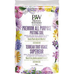 Proven Winners Premium All Purpose Potting  Soil 56L