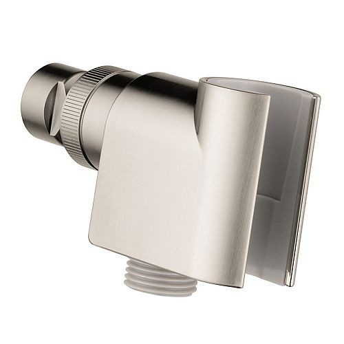 Hansgrohe Shower Arm Mount for Hand Shower in Brushed Nickel