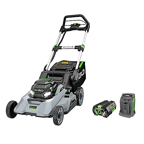 POWER+ 21-Inch 56V Li-Ion Select Cut Cordless Push Lawn Mower Kit w/ 5.0Ah Battery & Rapid Charger