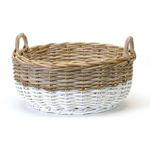 Round Two Tone Basket
