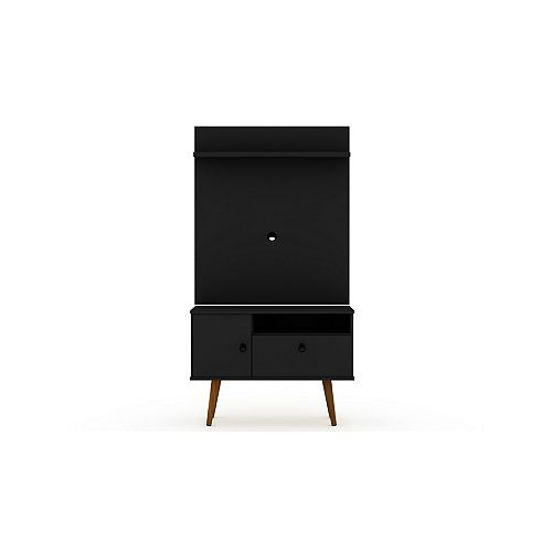 Tribeca 35.43 TV Stand and Panel in Black