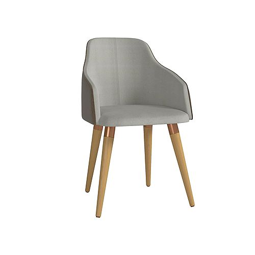 Martha Accent Chair in Grey