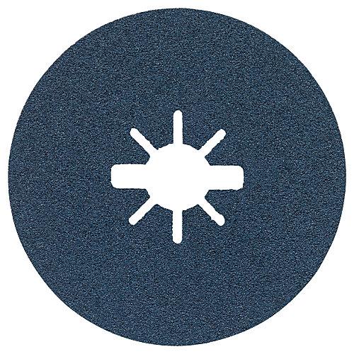 25 pc. 4-1/2 In. 80 Grit X-LOCK Medium Grit Abrasive Fiber Discs
