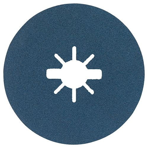 25 disques fibres X-LOCK de 5 po à grain fin, grain 100