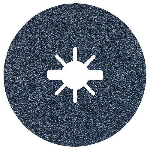 25 pc. 5 In. 24 Grit X-LOCK Coarse Grit Abrasive Fiber Discs