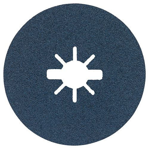 25 disques fibres X-LOCK de 5 po à grain moyen, grain 80