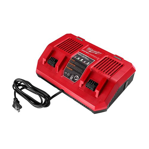 M18 18V Lithium-Ion Dual Bay Rapid Battery Charger