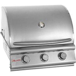 Blaze 25 Inch 3-Burner Built-In Natural Gas Grill