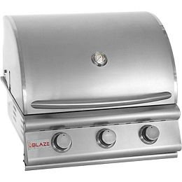 Blaze 25 Inch 3-Burner Built-In Propane Gas Grill